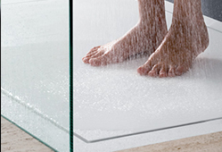 Receveur de douche en Solid Surface V-korr