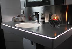 Ajout de LEDs pour un éclairage design
