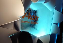 Le thermoformage de la matière est très utilisé dans la décoration d'intérieur