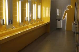 Plan vasque en V-korr - aire ENI de Ceignes