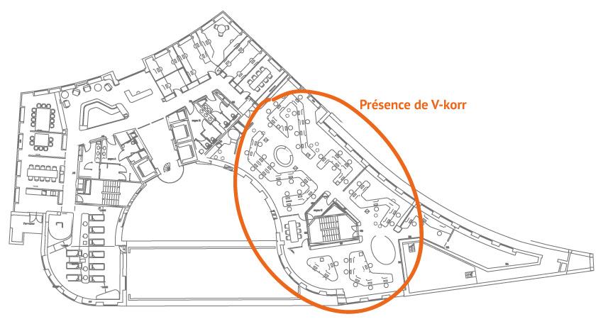 Plan locaux Esthederm