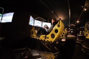 Simulateur de conduite Ellip6 au Paddock