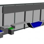 Modélisation 3D de la pièce - Vue n°2