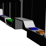 Modélisation 3D de la pièce - Vue n°1