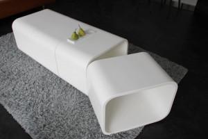 Cuves amovibles : création d'une table en V-korr