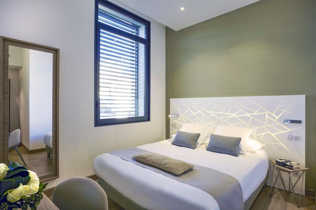 Mobilier hôtelier : Habillage des têtes de lits