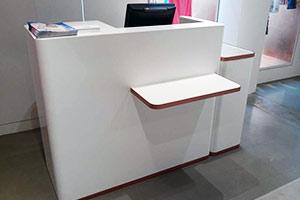 V-korr permet la création de mobilier pour les boutiques