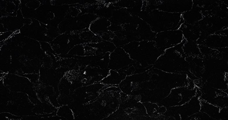 802 - Black Lava - Solid Surface V-korr