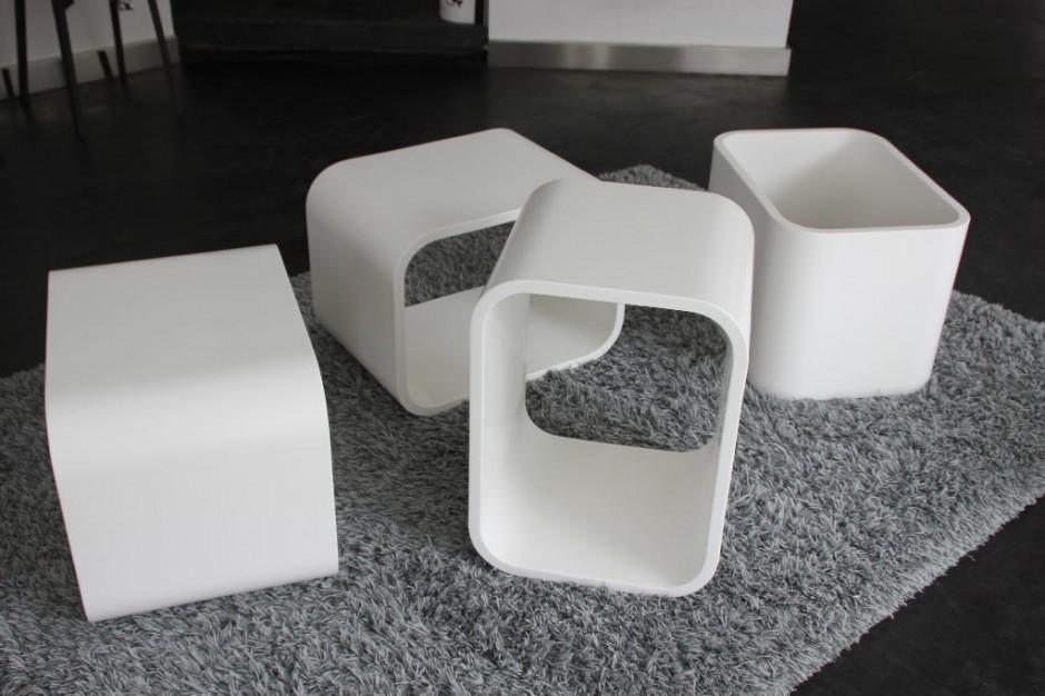 Cubes décoration Polyhome
