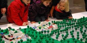 Support de ville Lego en V-korr