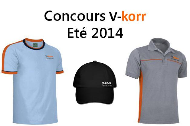 Concours V-korr
