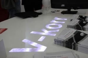 Table rétroéclairée - Petals + LEDS