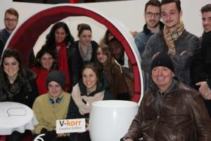 Visiste des étudiants de l'ENSAM