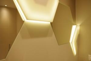 Eclairage grâce à la transparence du Lumino