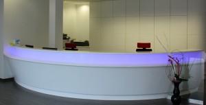 Banque d'accueil de bureau - SERMA
