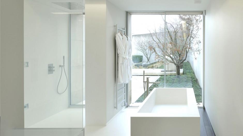 Baignoire et receveur de douche en V-korr Creative Surface
