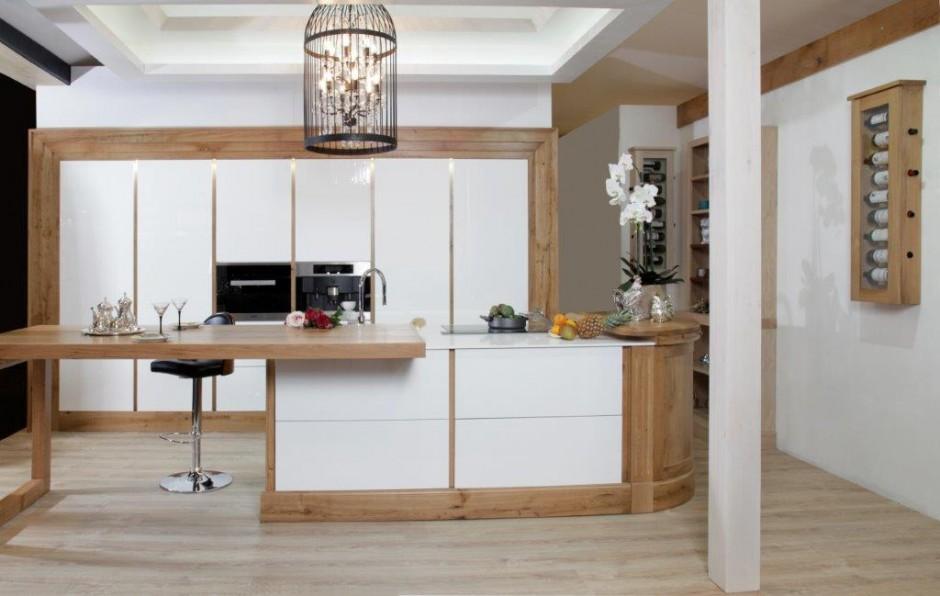 Showroom Trouillet Paris V-korr cuisine bois