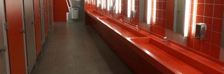 Plan vasque en V-korr dans l'aire de Ceignes