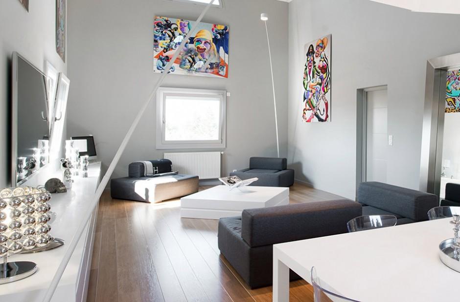 Mobilier de salon en Solid Surface