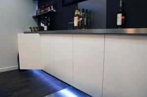 Habillage de meuble et rétroéclairage