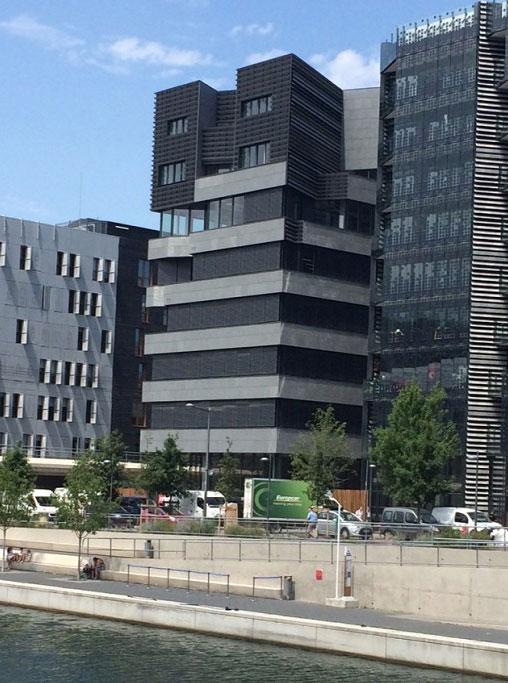 Immeuble Nishi Lyon - Nouveaux locaux Axens
