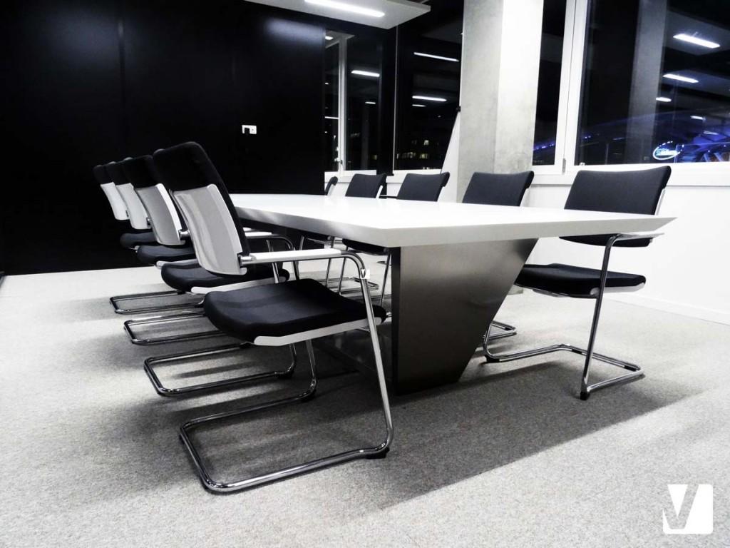 Table de réunion - Mobilier de bureau en Solid Surface V-korr