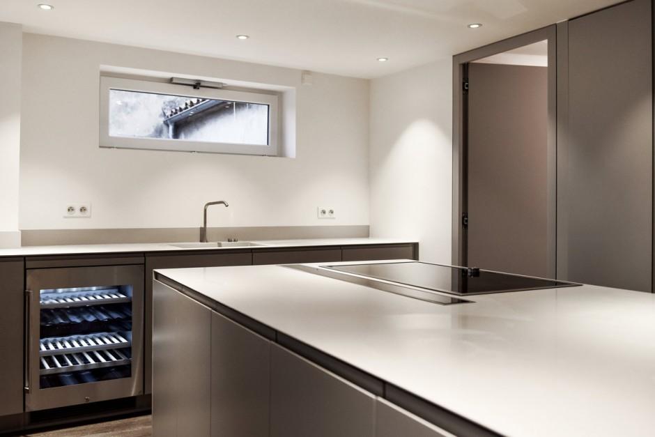 Aménagement de cuisine grâce au Solid Surface V-korr