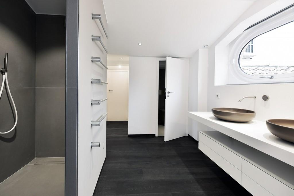 Plan vasque de salle de bains en Solid Surface