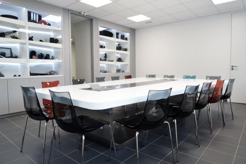Aménagement de bureaux en Solid surface