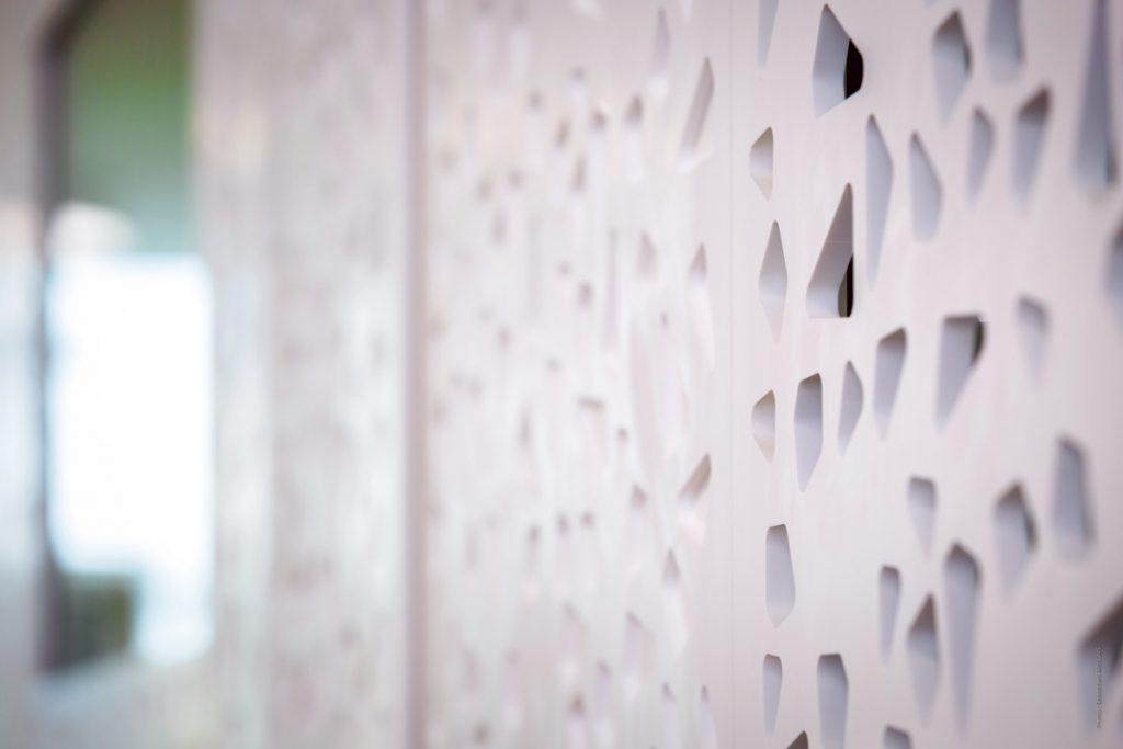 Habillage : Usinage numérique et découpe du Solid Surface