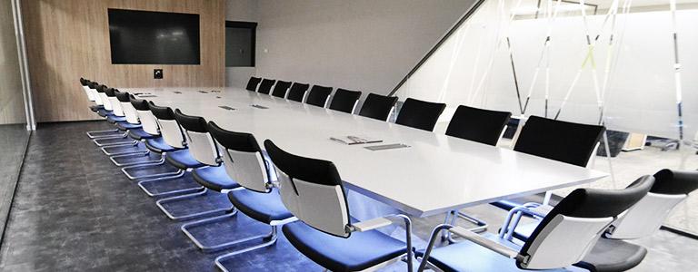Table de réunion en Solid Surface