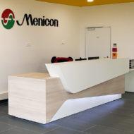 Aménagement des locaux de Menicon
